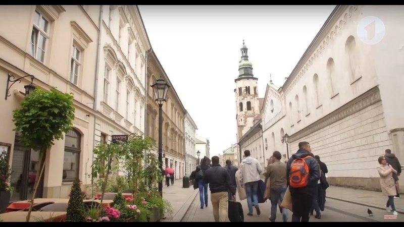 Польша глазами нашей съемочной группы Утренний эфир
