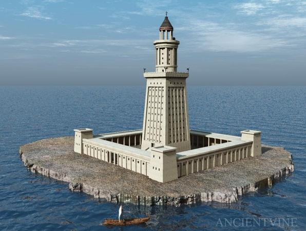 Александрийский маяк (7 чудо света)-The Lighthouse of Alexandria (7 Wonder of the World)