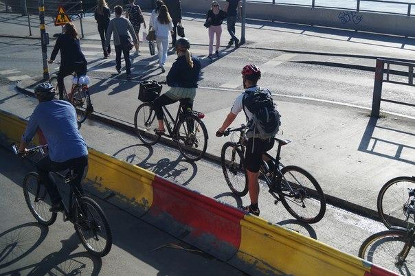 Велосипедное движение в Швеции
