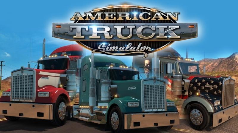 American Truck Simulator МУЛЬТИПЛЕЕР ☆ Конвоем по Америке