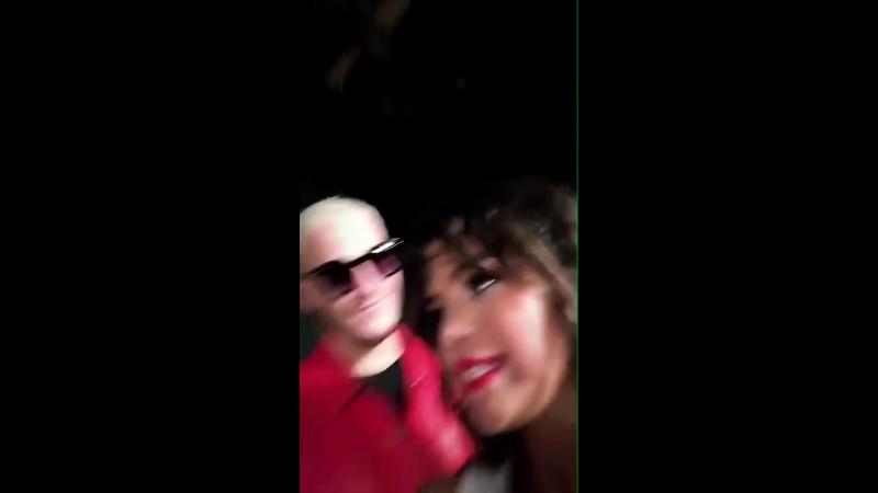 August 24 Selena Gomez, Cardi B Ozuna behind the scenes of shooting the music video for DJ Snake's next single! Selena said Card