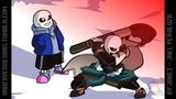 Sans VS Cross Chara ( Underverse AMV ) Fall out Boy - Light Em Up Rock Remix by Joseph Carranza