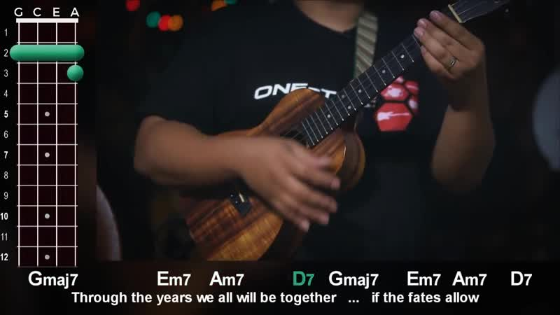 Have Yourself a Merry Little Christmas Ukulele Play-Along!