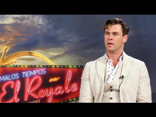 Bad Times at the El Royale Chris Hemsworth Generic Interview