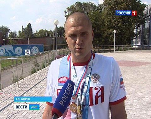 Таганрогские пловцы завоевали медали на Чемпионате Европы