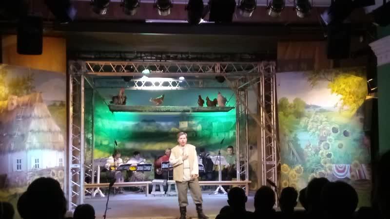 Спектакль Свадьба в Малиновке ария Андрейки исполняет Сергей Наседкин
