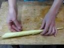 Старинный деревенский способ изготовления ушной восковой свечи