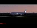 P3D v4 3 UHWW Посадка во Владивостоке PMDG 777 200LR