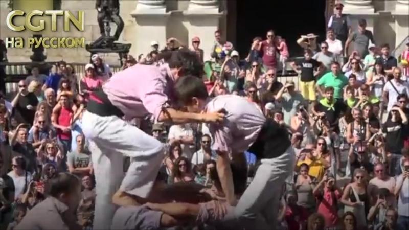 В эти дни в Барселоне отмечают фестиваль La Mercè