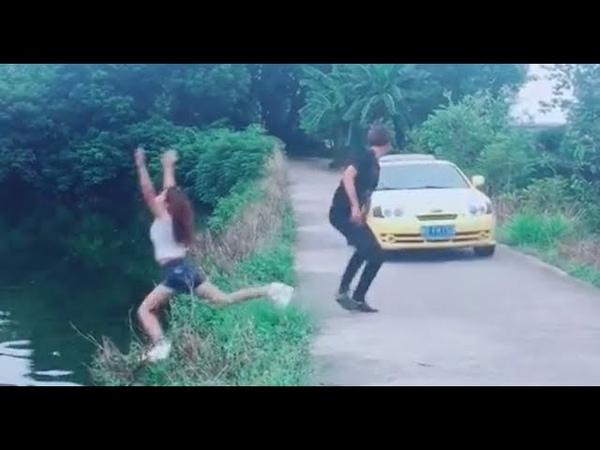 Troll ngu đường phố (p35) Chạy chạy ngay điiiii【Chinese joke】