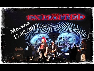 The Exploited - Live In Moscow 2017