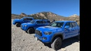 Off-Roading Wheeler Pass with the 2019 Toyota TRD PRO Trucks