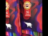 Koh-I-Noor Набор цветных карандашей с дизайном коробки от студии Артемия Лебедева