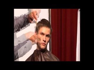 Мужская стрижка опасной бритвой