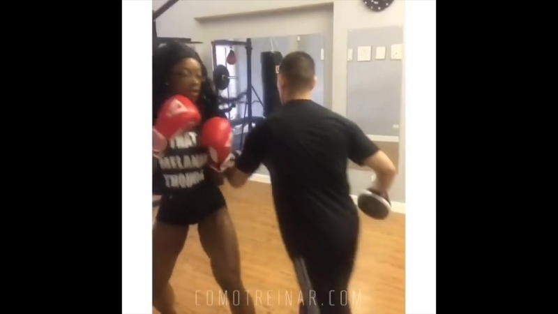 TREINO FIGHTING FITNESS PARA CORPO SEM FALHAS (Shanique The Present Grant)