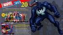Герои Marvel 3D №20 ● Веном (Venom) ● Centauria 1/16