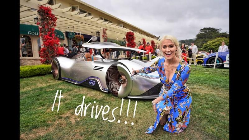Driving The Most Insane Concept Car | Mercedes-Benz EQ Silver Arrow