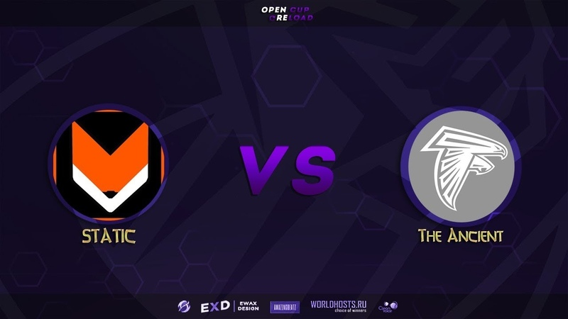STATIC vs The Ancient, map de_mirage, OpenCup.Reload №1
