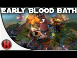 Dota 2 - Crazy early Blood Bath [Fnatic vs. Alliance]