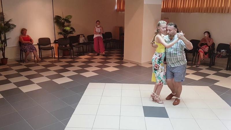Alex Vitaly Maria Vlady Tango vals workshop in Sochi  alexvitalymariavlady моретанго