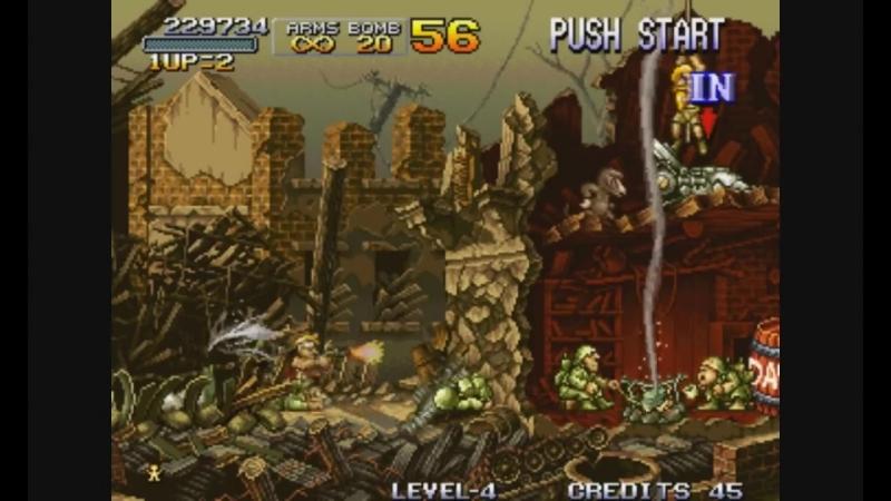 Metal Slug_ Super Vehicle-001. Arcade [Прохождение _ Walkthrough]