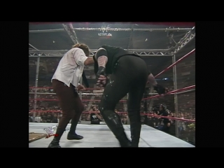 WWE KING OF THE RING 1998 - Hell in a Cell - Mankind vs The Undertaker