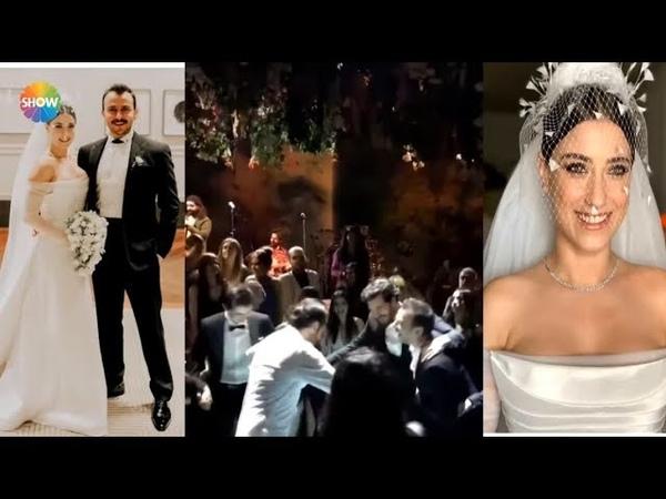 Hazal Kaya ve Ali Atay'ın muhteşem düğünü
