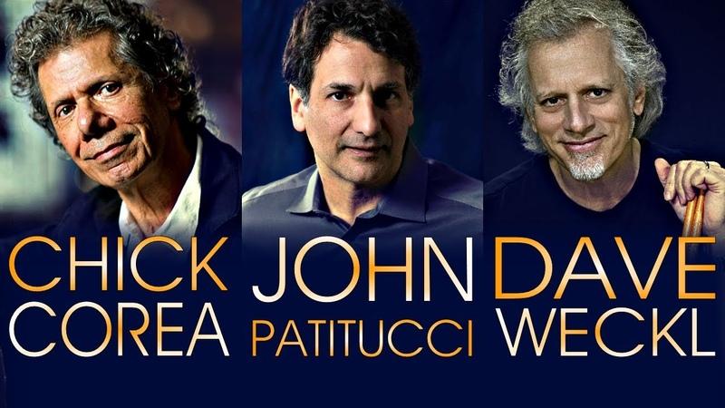 Chick Corea Akoustic Band feat. John Patitucci Dave Weckl - Heineken Jazzaldia 2018