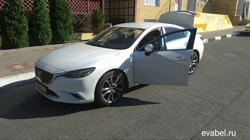 Mazda 6 GJ eva коврики в салон и багажник evabel.ru