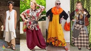 Бохо стиль в одежде 2018 фото 💎 Модные идеи для полных, как одеваться в стиле бохо женщинам 50+60+