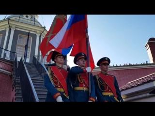 Полуденный развод караула в Петропавловской крепости