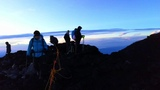 dawn on top of the volcano mt.Fuji Japan #coub