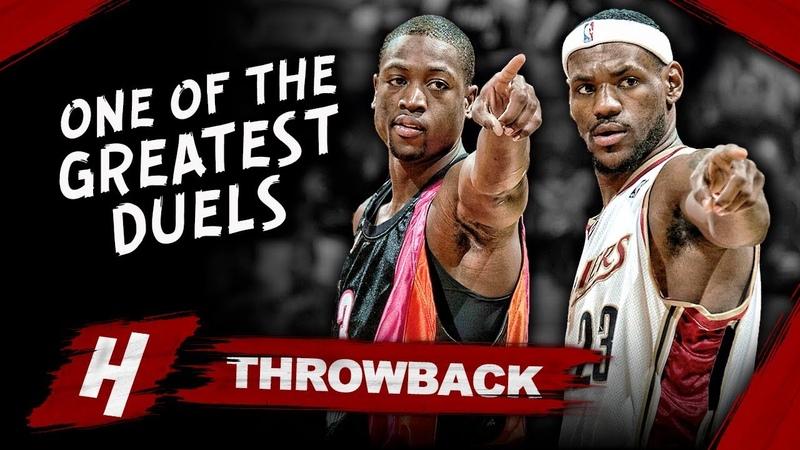 Dwyane Wade vs LeBron James EPIC 1 on 1 Duel Highlights 2006 03 12 Heat vs Cavs MUST WATCH