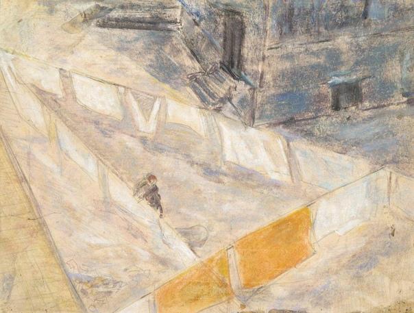 Святослав Рихтер - художник. Анна Ивановна Трояновская - моя большая приятельница, у которой я провел очень много часов моей жизни. Я у нее занимался, я у нее пробовал писать пастелью.