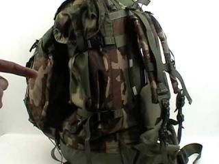 Part 1 Huge Internal Frame Military Field & Patrol Pack used as a Camping, Hiking Backpack