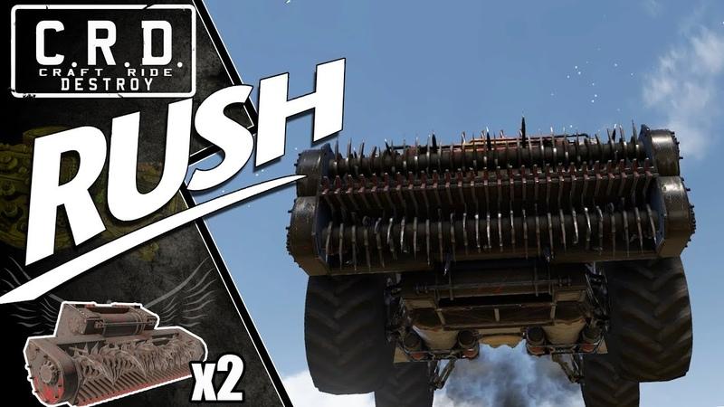 Crossout: [ Harvester x2 Hermes x4 ] RUSH [ver. 0.9.135]