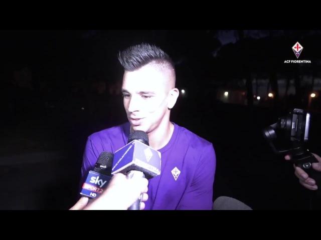 Presentación de Giovanni Simeone en la Fiorentina   SoloRiver.Net