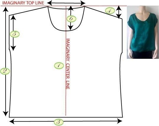 Сшить блузку своими руками без выкройки быстро для полных