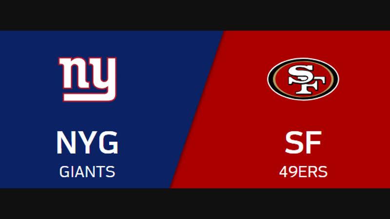 NFL 2018 / Week 10 / CG / New York Giants - San Francisco 49ers / EN