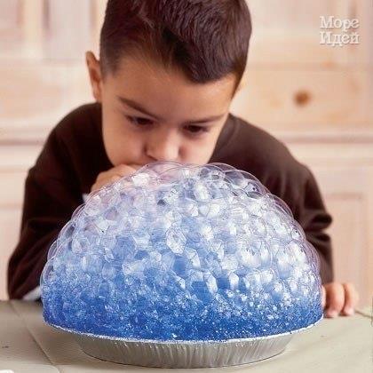Творчество с детьми: принт с помощью мыльных пузырей… (6 фото) - картинка