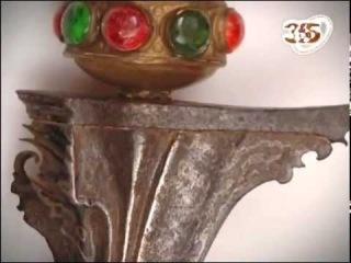 Традиционное оружие Индонезии -- кинжал крис.