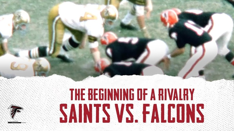 The Beginning Of A Rivalry: Saints vs. Falcons (1967)