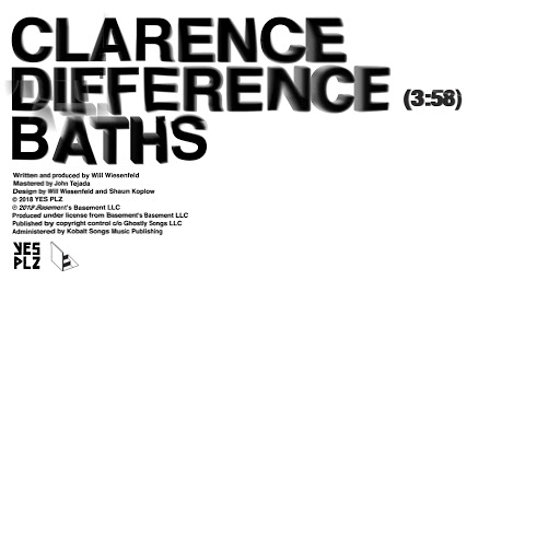Baths альбом Clarence Difference