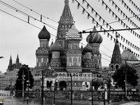 """1. Схемы вышивки  """"москва """". черно-белое.  Гамма, 44 цвета. собор василия блаженного. tasha_gover. город."""