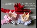 3 - Mini-couronne pour bébé - Mini crown for baby - MINI COROA pARA BEBE