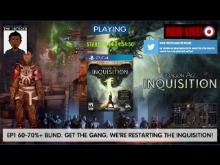 EP1 - Get the gang, we're restarting the inquisition! [60-70%+ Blind] [No Tips, backsteaty or spoileys unless requested, thks mu