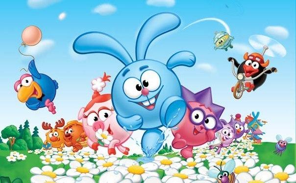 Песенки из популярного детского сериала «Смешарики». Пусть любимые голоса знакомых персонажей поднимут ребенку настроение!