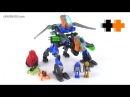 LEGO Hero Factory Build: Surge & Rocka Combat Machine