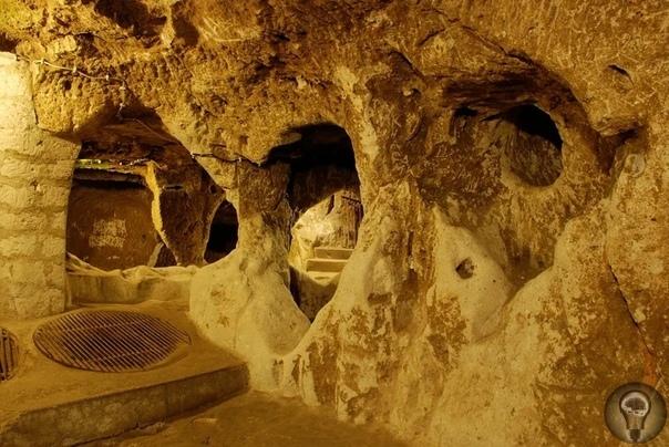 Места силы - древнее подземное убежище в Каппадокии