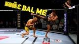 КРОВАВАЯ РУБКА. БОЙ С Bal ME В UFC 3 RANKED ROAD TO TOP 1